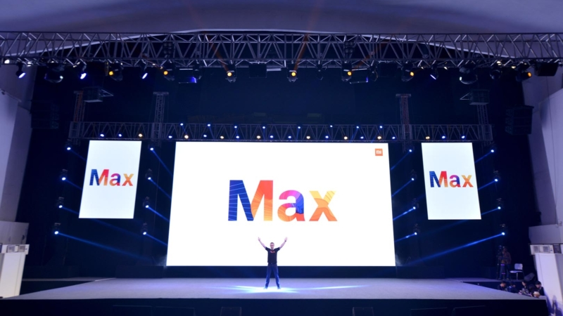 Mi Max Launch